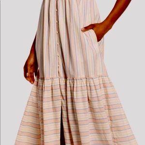 LUCKY BRAND BUTTON FRONT DRESS